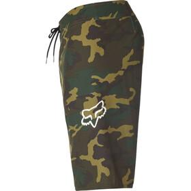 Fox Overhead Camo Stretch Pantalones cortos Hombre, green camo